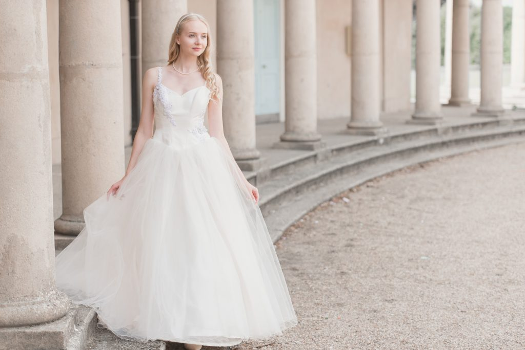Bridal Shoot At Eaton Park In Norwich