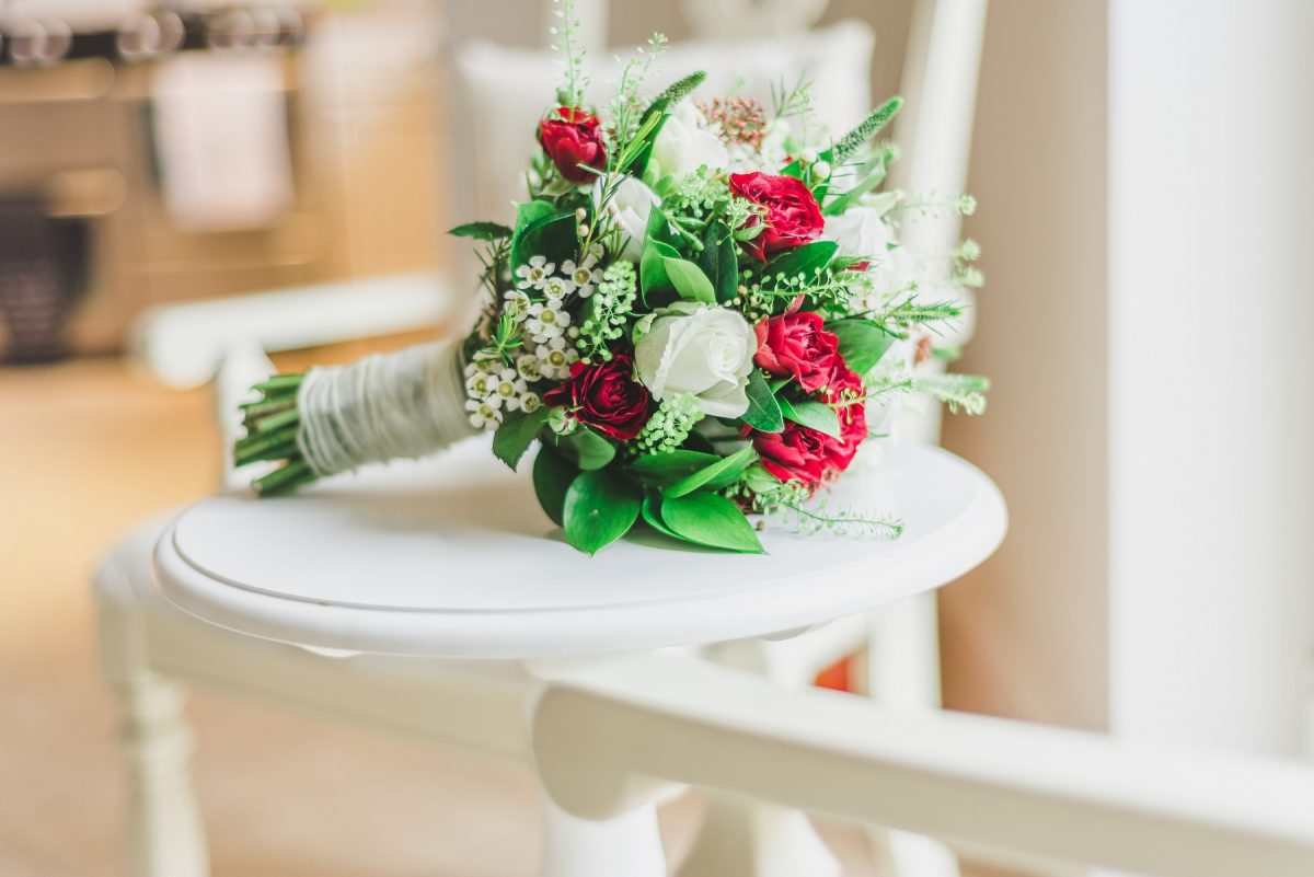 Wedding Investment - Bouquet On A Table
