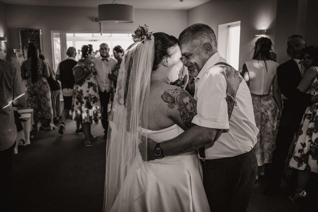 A wedding reception in Surrey