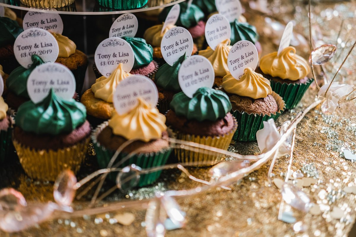 Wedding cupcakes at Mount Amelia