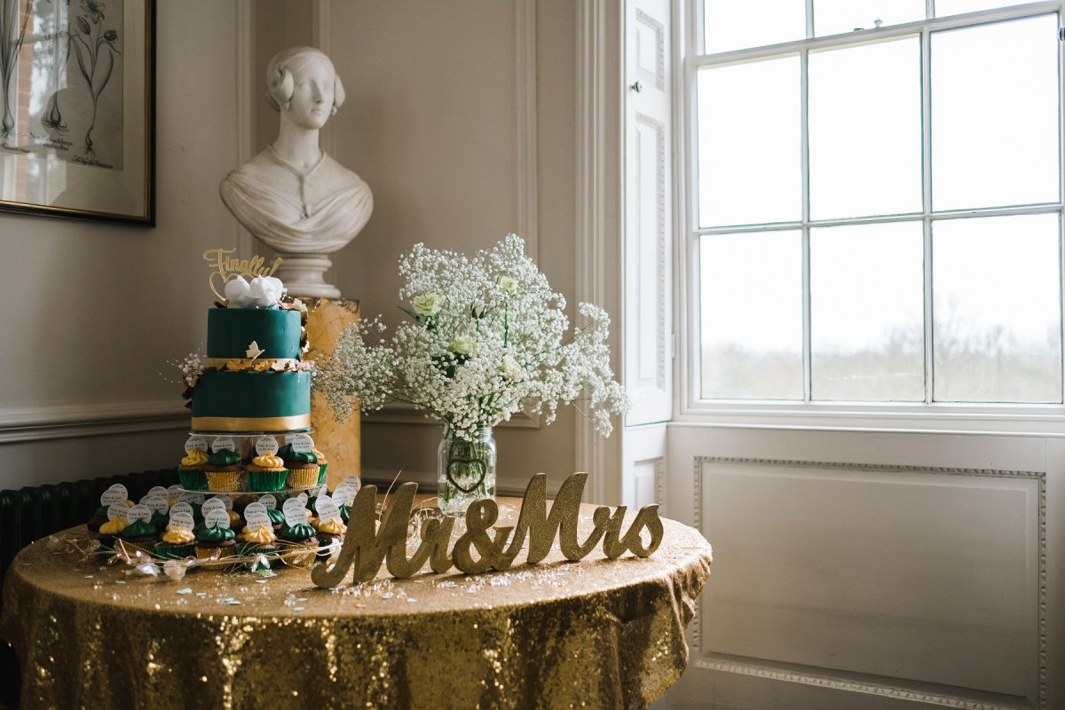 Wedding cake at Mount Amelia