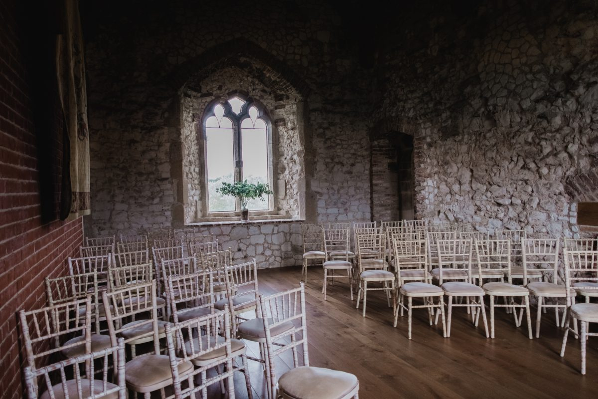 Pentney Abbey Gatehouse ceremony room