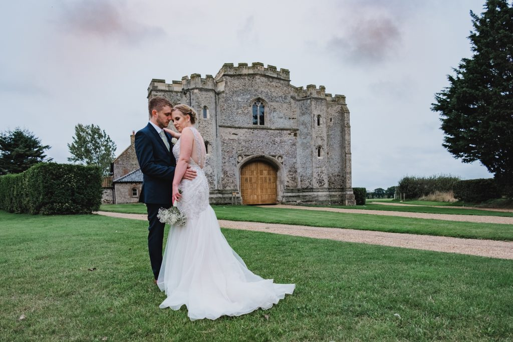 A wedding at Pentney Abbey