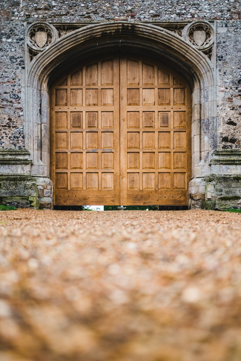 Pentney Abbey Gatehouse doors
