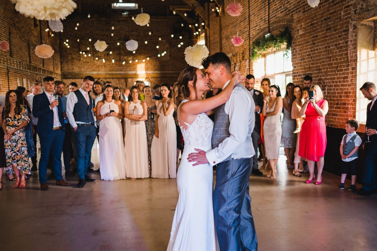First dance at Godwick Hall